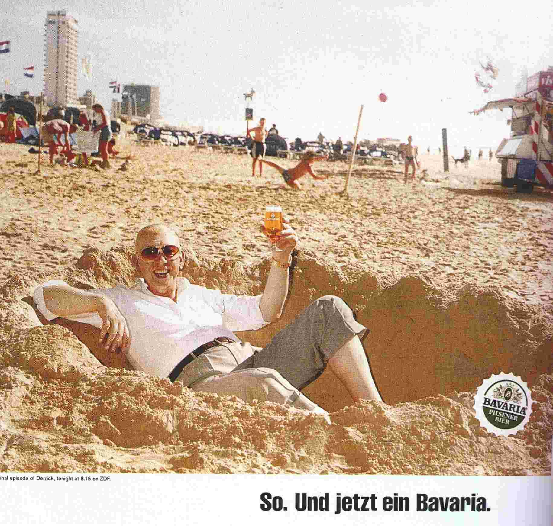 Derrick mit Bavaria-Bier Totale.JPG (826571 Byte)